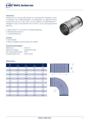 preview-pdf-R-Vent DRATU, Flexibele buis