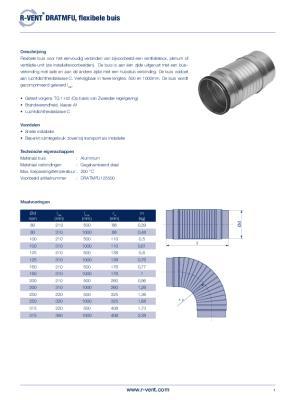 preview-pdf-R-Vent DRATMFU, Flexibele buis