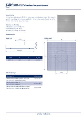 preview-pdf-R-Vent SKDR-15 Plafondrooster