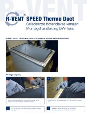 preview-pdf-R-Vent SPEED Thermo Duct, DW-Flensverbinding