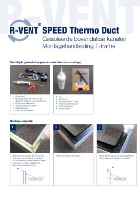 preview-pdf-R-Vent SPEED Thermo Duct, T-Frame verbinding