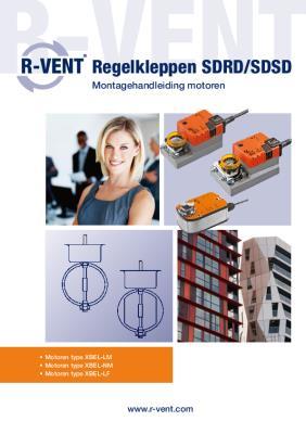preview-pdf-R-Vent Regelkleppen SDRD SDSD, Montagehandleiding