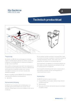 preview-pdf-HRU ECO 200 warmteterugwinunit