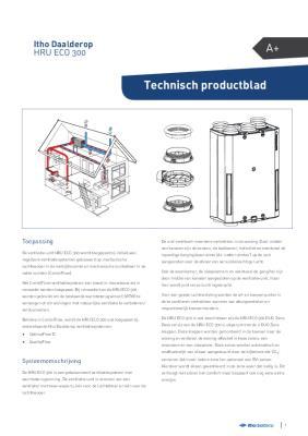 preview-pdf-HRU ECO 300 warmteterugwinunit