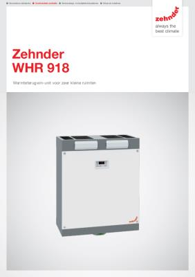 preview-pdf-WHR 918 warmteterugwinunit