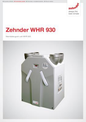 preview-pdf-WHR 930 warmteterugwinunit