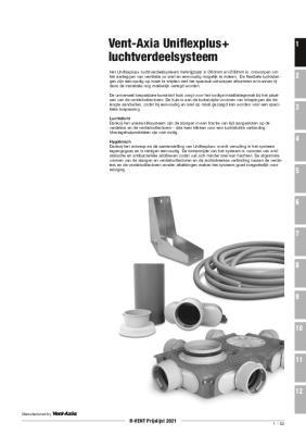 preview-pdf-Vent-Axia Uniflexplus+, luchtverdeelsystemen