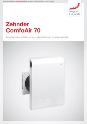 preview-pdf-ComfoAir 70, decentrale warmteterugwinunit