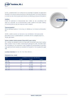 preview-pdf-R-Vent NE-J, Toevoer